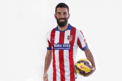 El Atlético estrena camiseta ante el Real Madrid