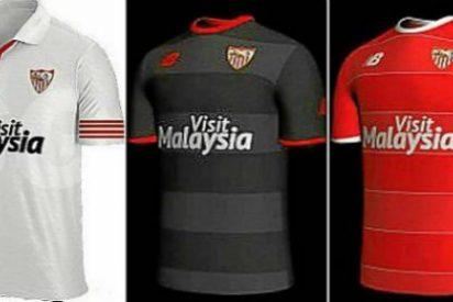 ¡Filtradas las camisetas del Sevilla!