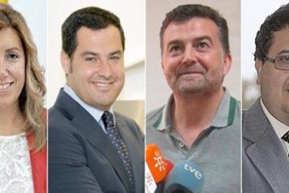 Así son los candidatos a la presidencia de Andalucía