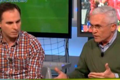 "Paco García Caridad (Marca) a Manu Sainz (AS): ""A ti te utilizó Cristiano Ronaldo y tú pecaste de bueno"""