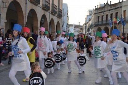 Más de 1.500 personas participan en el desfile del carnaval infantil en La Serena