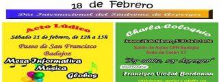 La Asociación Síndrome de Asperger de Extremadura programa varias actividades en Badajoz