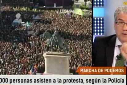 """García-Abadillo despelleja al conjunto 'podemita': """"Este grupo que se está poniendo la piel de cordero dentro tiene un gran lobo"""""""