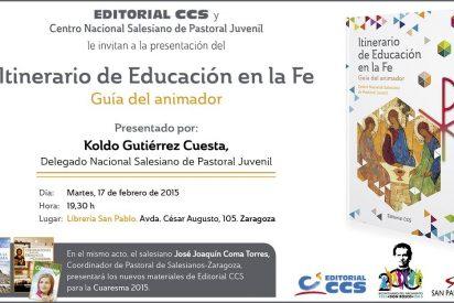 """Presentación de """"Itinerario de educación en la fe. Guía del educador"""""""