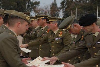 Los soldados del segundo ciclo de 2014 acaban su formación en Cáceres