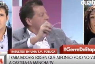 Jesús Cintora se esconde detrás de una sindicalista para pedir que Alfonso Rojo no vuelva a Castilla-La Mancha TV