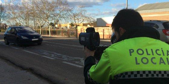 La Policía Local de Don Benito comienza una campaña de control y de concienciación sobre los límites de velocidad