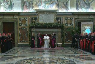 """Francisco no quiere """"cupos"""" de movimientos ni congregaciones en la Curia"""