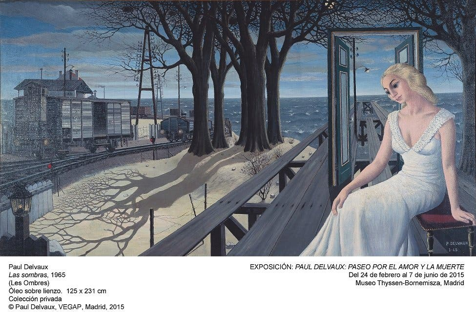 Paseo sin amor con Paul Delvaux