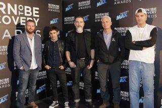 """Frank Cuesta, Antonio Díaz y David Beirán en la I edición de los """"Born to be Discovery Awards"""""""