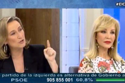 """Isabel Durán se harta de Lomana: """"Cuando llegue tu amigo de Podemos no vas a poder ni hacer el roscón porque no habrá harina"""""""