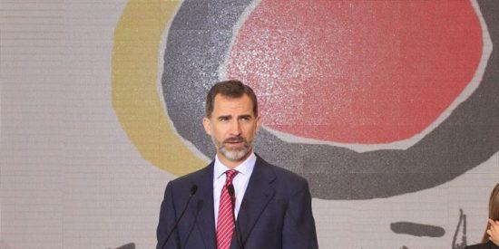 """El Rey aboga en A Coruña por avanzar hacia una """"Europa social"""""""