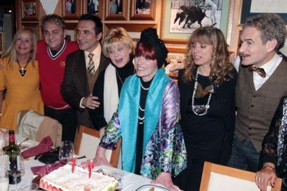 Encarnita Polo celebra su cumpleaños rodeada de amigos