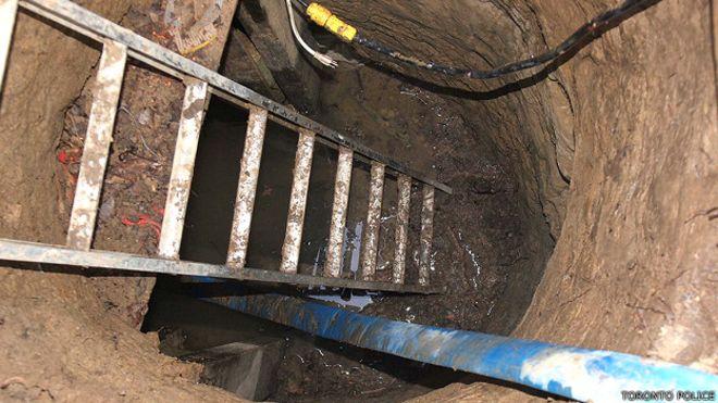 El misterioso túnel que tiene totalmente desconcertada a la policía en Canadá