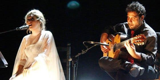 Estrella Morente presenta su 'Amar en paz', con Trueba y 'El Golosina'