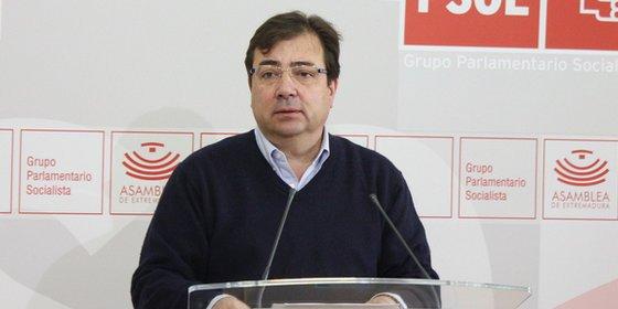 """Fernández Vara: """"Monago construyó su legislatura sobre una gran mentira"""""""