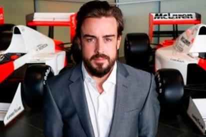 Alonso tiene un accidente con el Honda