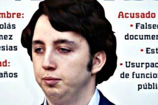 El 'Pequeño' Nicolás tiene la caradura de explicar en Twitter su 'simpa' y detención