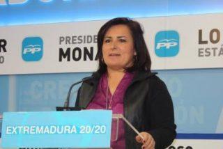 """La portavoz popular, Francisca Rosa: """"Nunca un gobierno ha devuelto tantos millones a los extremeños"""""""