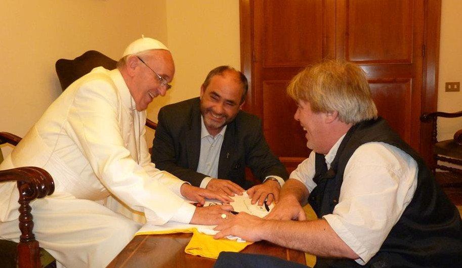 """Gustavo Vera: """"Yo siempre publico las cartas del Papa"""""""
