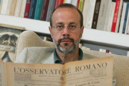 El director de l'Osservatore Romano, el primer invitado