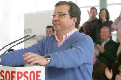 Fernández Vara denuncia la caída de las transferencias del Estado a Extremadura en la legislatura de Monago