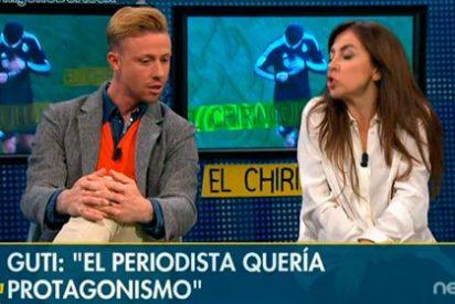 """Guti justifica el """"eres poco inteligente"""" de CR7 en la zona mixta del Calderón: """"El periodista de TV3 quería protagonismo"""""""