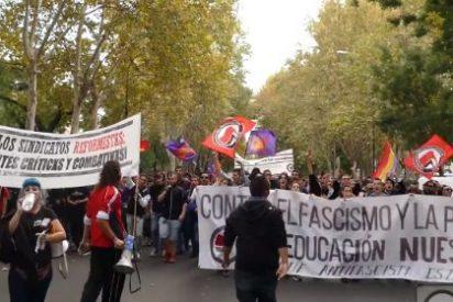 Estudiantes de la UAB cortan los accesos por carretera al Campus por la huelga