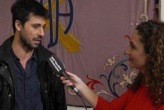 """Hugo Silva: """"En 'Los Nuestros' hemos hecho una pequeña mili que ha sido muy enriquecedora"""""""