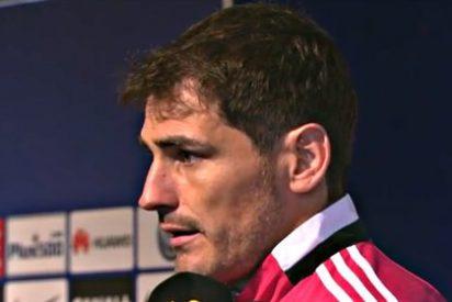 Pillan a Casillas confesando su futuro al entrenador