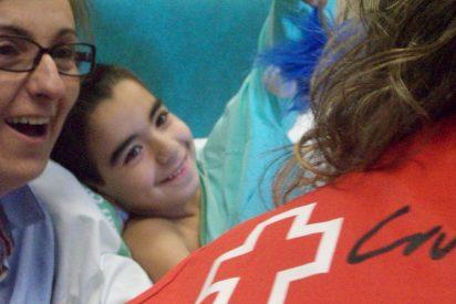 Cruz Roja acompaña a más de 2.000 niñas y niños hospitalizados en Extremadura