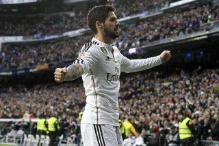 El Real Madrid terminó la fiesta pero sigue de siesta: Golazo de Isco y nada más