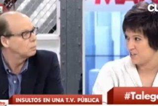 Jaime González pone de vuelta y media a Beatriz Talegón tras su numerito en Castilla-La Mancha TV