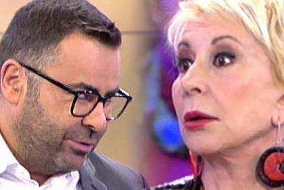 """Jorge Javier machaca y rompe con Karmele para siempre: """"¡Tus disculpas me dan igual! Voy a pedir no coincidir contigo en plató!"""""""
