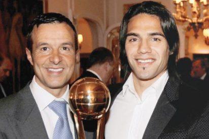 Guerra entre Jorge Mendes y Van Gaal por culpa de Falcao