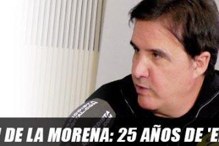 """José Ramón de la Morena: """"Competir con García me hizo mejor periodista pero peor persona: las guerras no hacen mejor a nadie"""""""