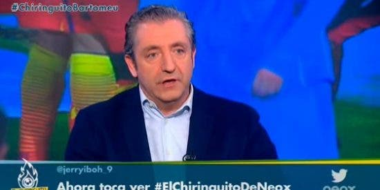 "Josep Pedrerol: ""Me da vergüenza que Santi Nolla y Mundo Deportivo tapen información sobre Bartomeu"""