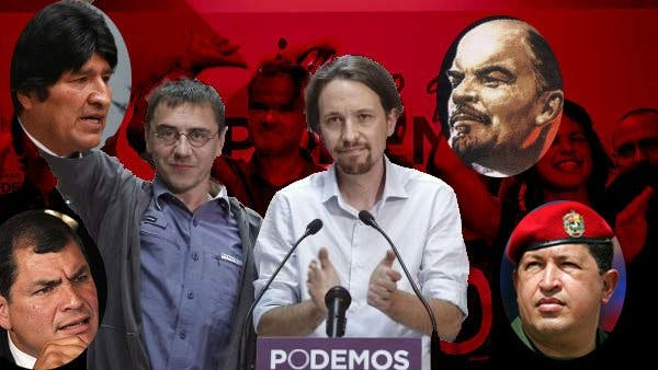 Así vivían a toda pompa y sin ponerse rojos los altruistas líderes de Podemos en la menesterosa Caracas