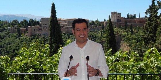 """El presidente de los populares andaluces tiene claro que """"el PP va a ganar las elecciones en Andalucía"""""""