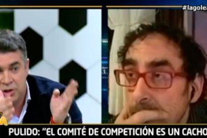 """Julio Pulido infravalora el trabajo de los árbitros e Iturralde se enciende: """"Estáis prostituyendo el fútbol"""""""