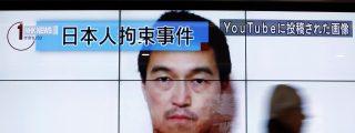 Los facinerosos del Estado Islámico suben a Internet el vídeo con la decapitación del periodista japonés