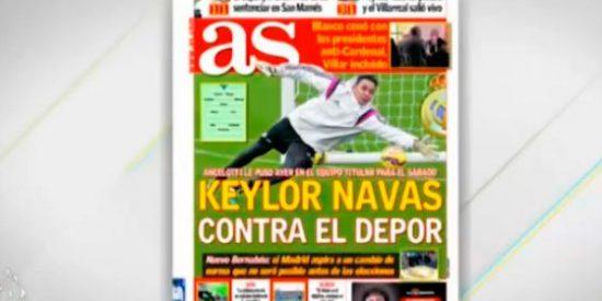 Según el AS, Keylor Navas jugará ante el Depor e Iker lo verá desde el banquillo