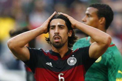 Khedira tendría un precontrato con otro equipo alemán