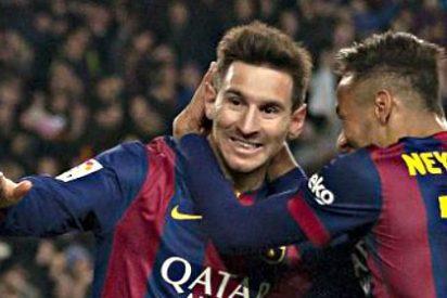 Messi y Neymar aprovechan en el 'Pichichi' la sanción de Cristiano Ronaldo