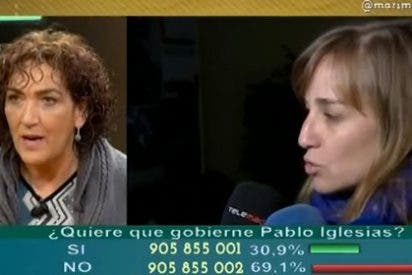"González: ""Nunca he visto que un partido como IU sea abducido por unos niñatos pegando gritos"""