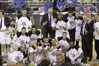 El Real Madrid de baloncesto se impone al Barça en una trepidante final de Copa del Rey