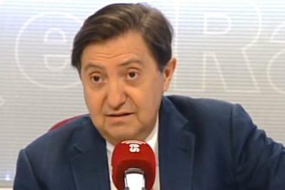 """Losantos se lanza a la yugular de Zapatero: """"Con esa cara de idiota miraba al hijo de Satanás, Raúl Castro"""""""