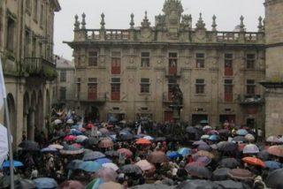 Miles de alumnos salen a la calle en toda Galicia en contra del 3+2