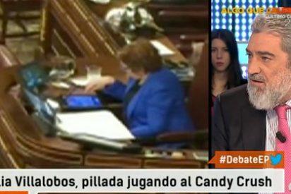 Miguel Ángel Rodríguez sentencia a Villalobos: ¡Fuera de aquí! ¡A jugar al Candy Crush a tu casa!