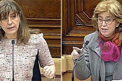 """El enfado de Rigau, la """"consejera condenada"""" por negarse a cumplir las sentencias sobre bilingüismo"""
